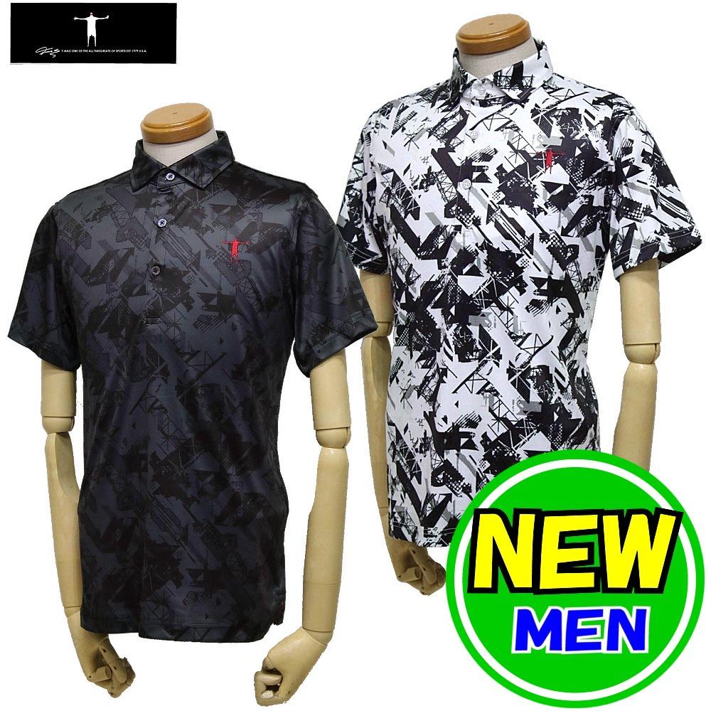【30%OFF!セール】T-MAC / ティーマック(2020春夏新作!)半袖シャツ/ポロシャツ(メンズ)ゴルフウェア