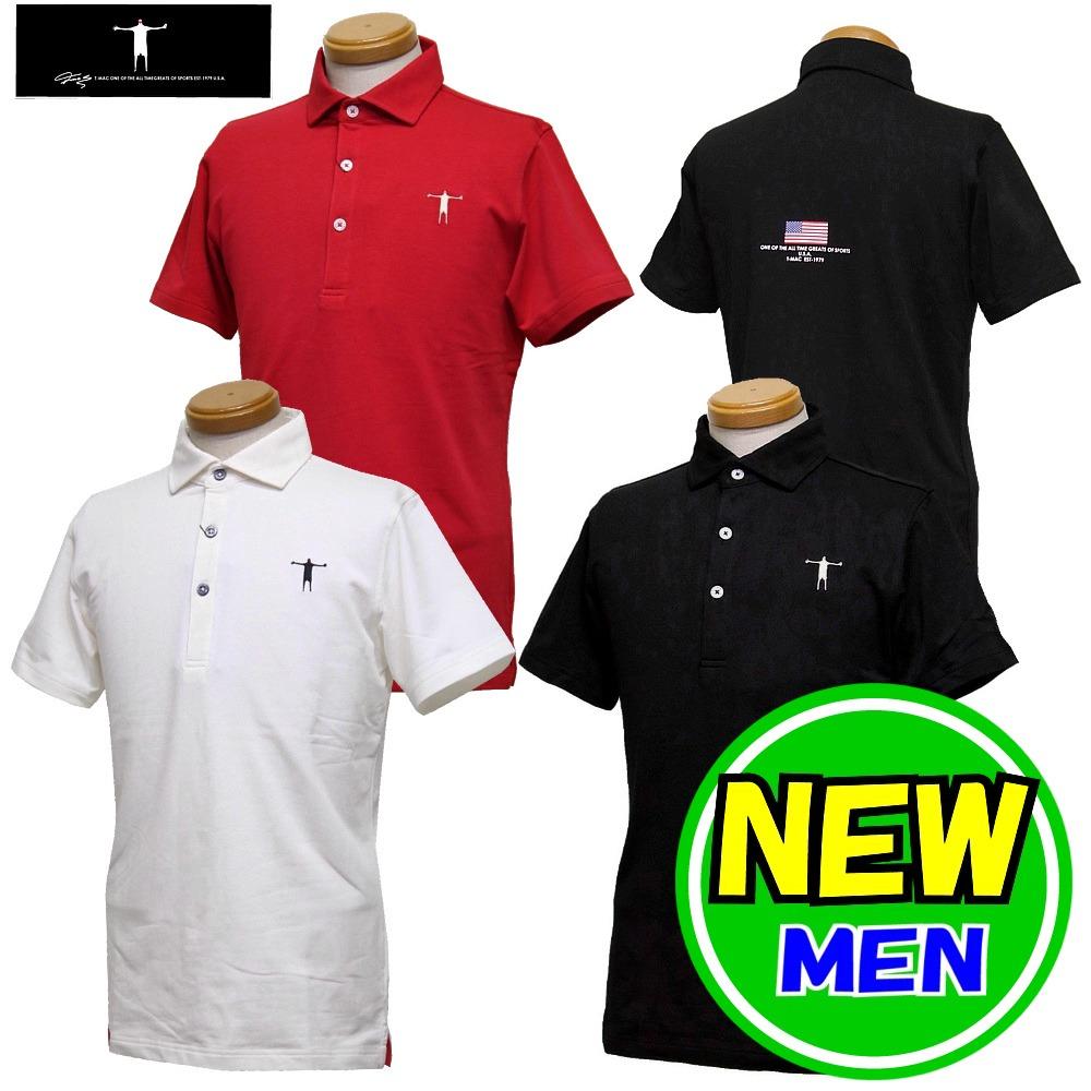 T-MAC / ティーマック(2020春夏新作!)半袖ポロシャツ (メンズ)ゴルフウェア/ ポイント3倍!
