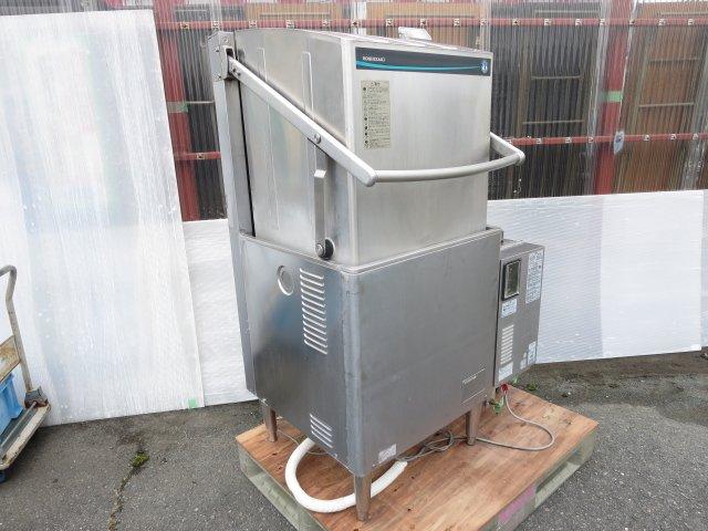 ◆ホシザキ 業務用 食器洗浄機 ドアタイプ JWE-680B 連動LPガスブースター付 60Hz 営業所止め[1219LK]7CE!-2【中古】