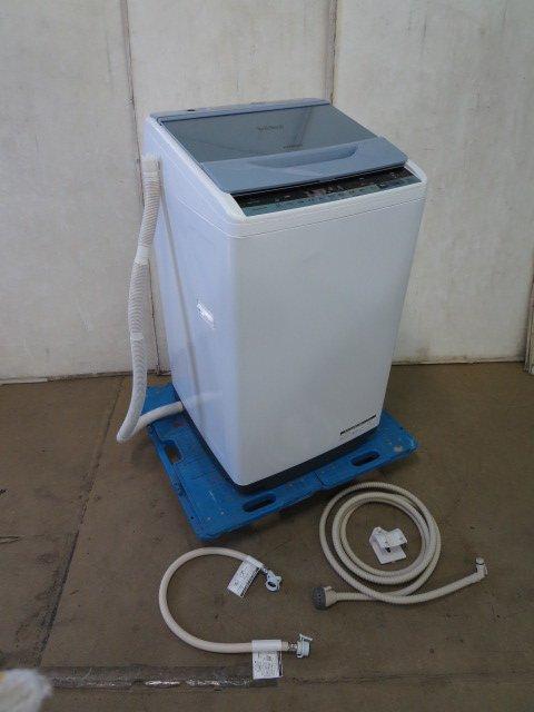 ■2018年 日立/7kg 全自動洗濯機 ビートウオッシュ BW-V70B[0324BH]7CY!-1【中古】