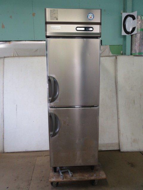 ◆フクシマ 業務用 縦型2ドア 冷凍冷蔵庫 ARD-061PM[0609AH]7CY!-1【中古】