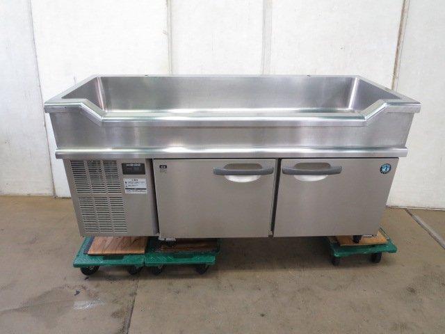 ◆ホシザキ シンク付 冷蔵コールドテーブル RW-150SNC[0612BH]7CY!-1【中古】