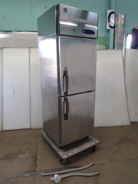 ▼ホシザキ 縦型2ドア 冷凍冷蔵庫 HRF-63LZT-ED[0614BH]7CY!-1【中古】
