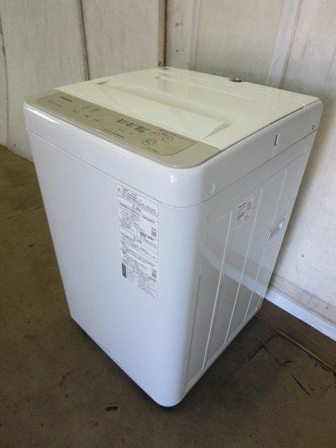 当社6ヶ月保証付 ■2020年製 人気 パナソニック 全自動洗濯機 NA-F50B13 0719BI 7CY 中古 安売り 5kg -1