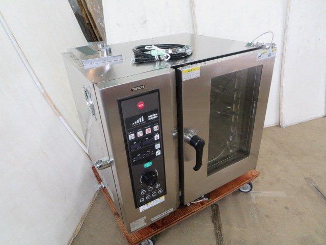 タニコー 電気スチームコンベクションオーブン TSCO-61EBL 3相200V 購入2019年 新作からSALEアイテム等お得な商品 満載 上等 0821AT 中古 -1 7CE 営業所止め