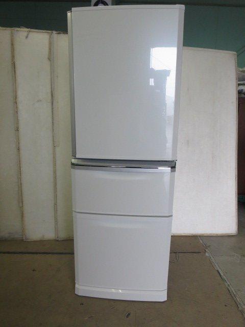 当社3ヶ月保証付 ■三菱 売買 冷蔵庫 MR-C34A-W 335L 豪華な 7CY -1 中古 3ドア 0914BI