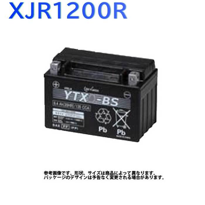 GSユアサ バイク用バッテリー ヤマハ XJR1200R 型式4KG3対応 YTX14-BS | ジーエスユアサバッテリー 液入り充電済み 2輪車 モーターサイクル VRLA 制御弁式 バッテリー交換