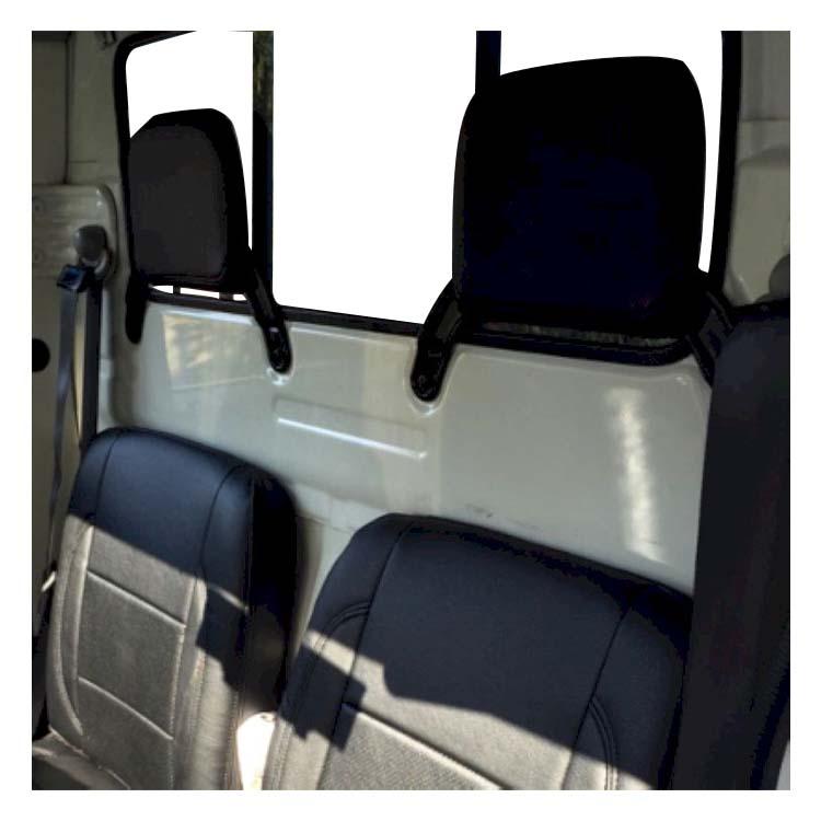 フロントシートカバー アクティトラック HA6 HA7 JA0302 ヘッドレスト分割型 ホンダ