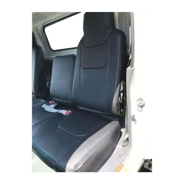 フロントシートカバー タイタン 6型 LNR LNS LPR LPS JA1002 ヘッドレスト一体型 助手席・中央席背もたれ分割 マツダ|シートカバー ヘッドレスト トラック mazda まつだ ハイエース カムロード ミニキャブ トラック用品 アトレーワゴン カスタム カーシートカバー 車
