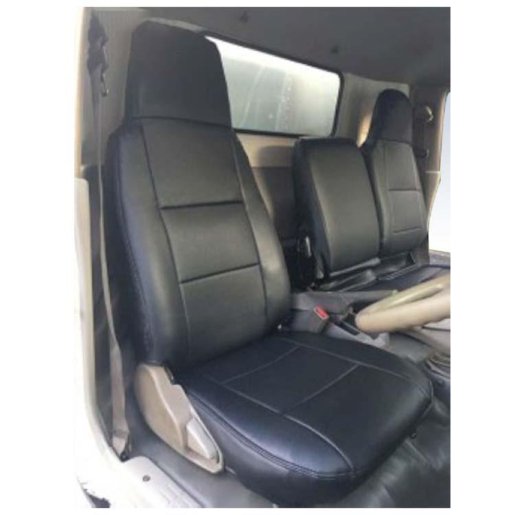 フロントシートカバー ダイナ7型 300~500系 JA1104 ヘッドレスト一体型助手席・中央席背もたれ一体タイプ トヨタ|シートカバー ヘッドレスト トラック TOYOTA とよた アルトワークス タウンエース ミニキャブ トラック用品 アトレーワゴン カスタム カーシートカバー 車