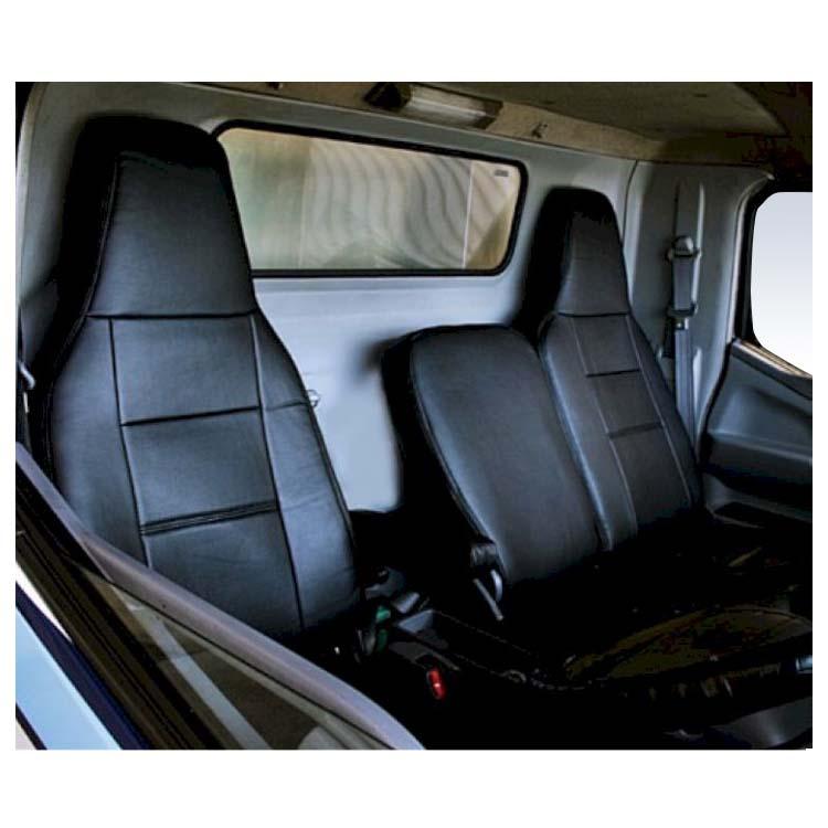 フロントシートカバー キャンター(ジェネレーション) FE8 JA1202 ヘッドレスト一体型、アームレストあり 三菱ふそう|シートカバー ヘッドレスト トラック MITSUBISHI-FUSO みつびしふそう カムロード ミニキャブ トラック用品 アトレーワゴン カスタム カーシートカバー 車