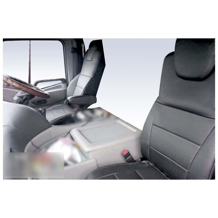 フロントシートカバー クオン(パーフェクトクオン含む) JA1301 運転席ヘッドレスト一体型、アームレストあり助手席ヘッドレスト分割 UDトラックス|シートカバー ヘッドレスト トラック UDTRUCKS ユーディートラックス トラック用品 カスタム カーシートカバー 車