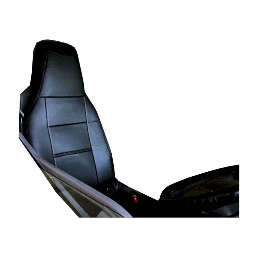フロントシートカバー キャンター(ジェネレーション) FE8 JAU1202 ヘッドレスト一体型、アームレストあり 三菱ふそう|シートカバー ヘッドレスト トラック MITSUBISHI-FUSO みつびしふそう トラック用品 アトレーワゴン カスタム カーシートカバー キャラバン 車