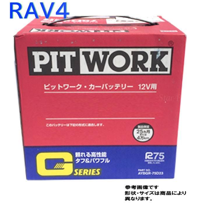 ピットワーク バッテリー トヨタ RAV4 型式UA-ACA20W H12/05?対応 AYBGR-55B24 Gシリーズ スタンダードモデル | 送料無料(一部地域を除く) PITWORK メンテナンスフリー 国産車用 カーバッテリー メンテナンス 整備 自動車用品 カー用品 交換用