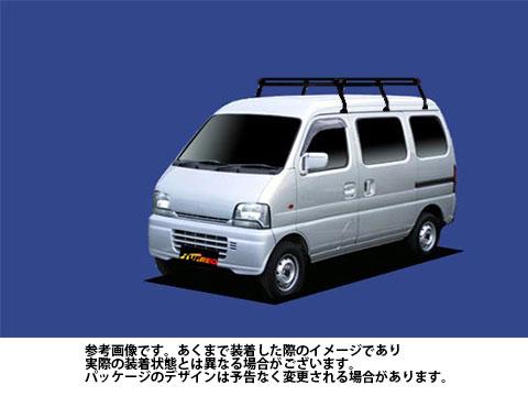 【送料無料】 ルーフキャリア マツダ スクラム 型式 DG52V DH52V 用 | タフレック ルーフキャリア Pシリーズ PH237A
