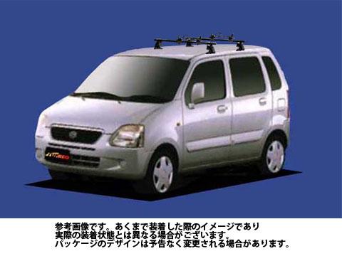 【送料無料】 システムキャリア スズキ ワゴンRプラス 型式 MA63S 用 | タフレック マルチホールド アタッチメント FH0
