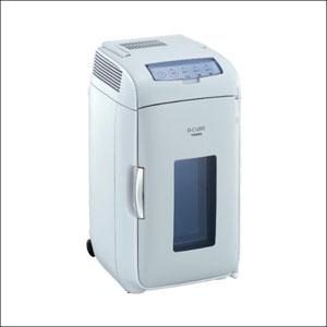 TWINBIRD(ツインバード) 2電源式ポータブル電子適温ボックス D-CUBE L HR-DB07GY容量たっぷりな上に、1台で保冷も保温も。一年中使える冷温庫。02P05Nov16