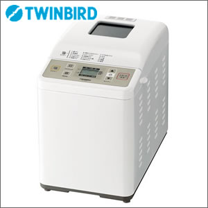 TWINBIRD(ツインバード) ホームベーカリー PY-E631W ホワイトもっちり美味しい米粉パンが焼ける!もちもち食感の米粉パン、グルテンフリーの米粉パン【宅配便/メール便不可】【W】02P05Nov16