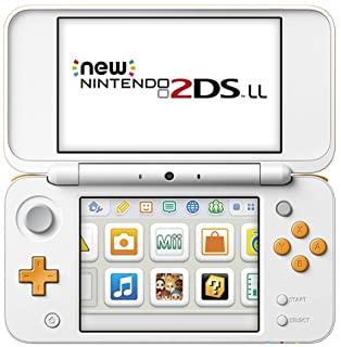 中古 3DS本体 Newニンテンドー2DS LL 信頼 ホワイト×オレンジ 販売実績No.1