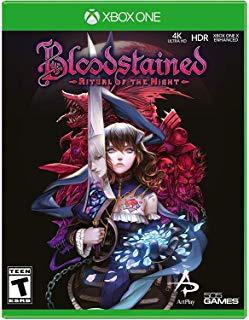 新品XBOXONE Bloodstained:Ritual of the 公式 Night 送料無料 新品 オブ ザ 海外北米版 ナイト ブラッドステインド:リチュアル