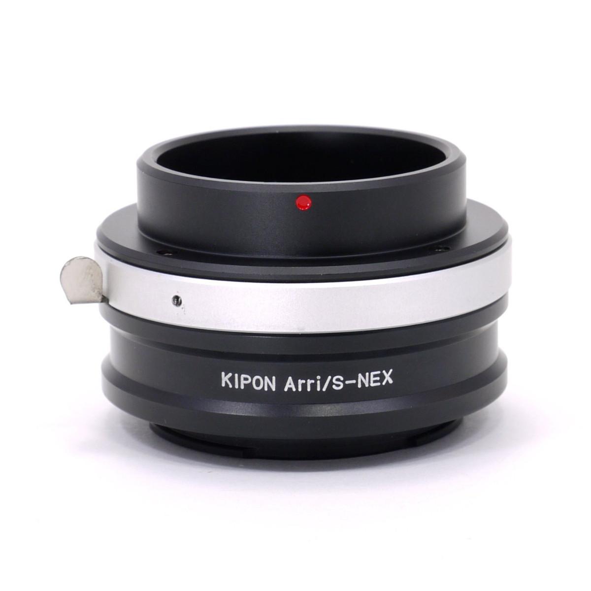マウントアダプター KIPON ARRI/S-S/E (ARRI/S-NEX) アリフレックスマウントレンズ - ソニー NEX/α.Eマウントカメラ