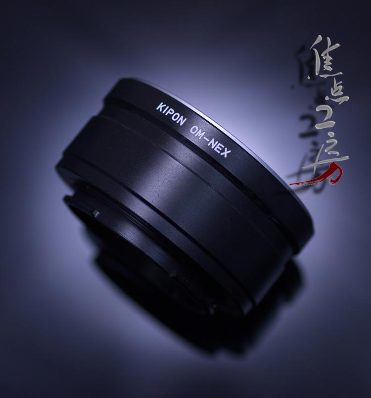 マウントアダプター KIPON OM-S/E (OM-NEX) オリンパスOMマウントレンズ - ソニー NEX/α.Eマウントカメラ
