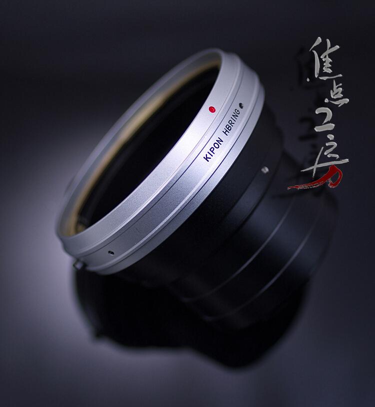 マウントアダプター KIPON HB-m4/3 ハッセルブラッドVマウントレンズ - マイクロフォーサーズマウントカメラ