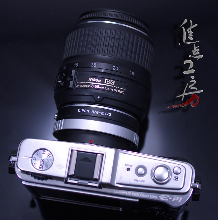 Nikon G series Ren zoo micro four SARS mount adapter made in KIPON