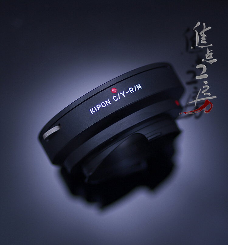 It is Contax / Yashica mount Ren zoo Ricoh GXR A12/ Leica M mount adapter a product made in KIPON