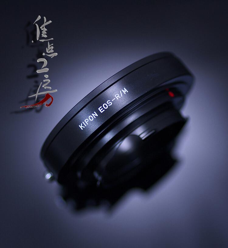 マウントアダプター KIPON EOS-RM キヤノンEOS/EFマウントレンズ - リコーGXR A12/ライカMマウントカメラ