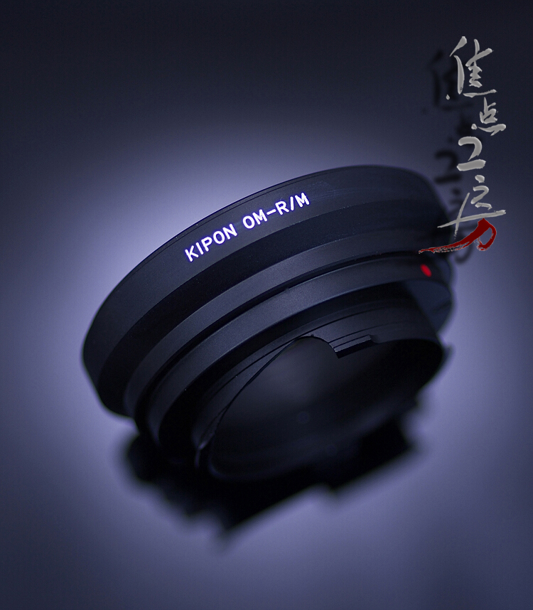 マウントアダプター KIPON OM-RM オリンパスOMマウントレンズ - リコーGXR A12/ライカMマウントカメラ