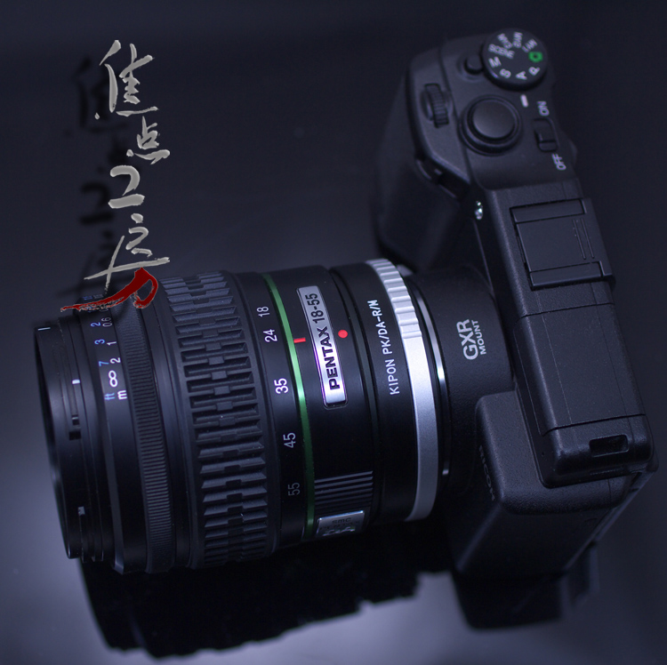 It is Pentax DA series Ren zoo Ricoh GXR A12/ Leica M mount adapter a product made in KIPON