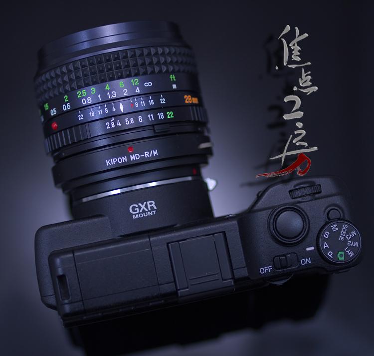 KIPON made by Minolta MD / MC, SR マウントレンズーリコー GXR A12 / Leica M mount adapter