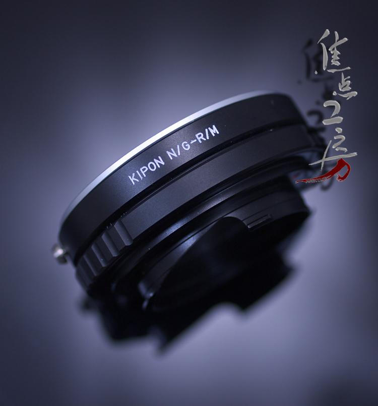 マウントアダプター KIPON N/G-RM ニコンFマウント/Gシリーズレンズ - リコーGXR A12/ライカMマウントカメラ