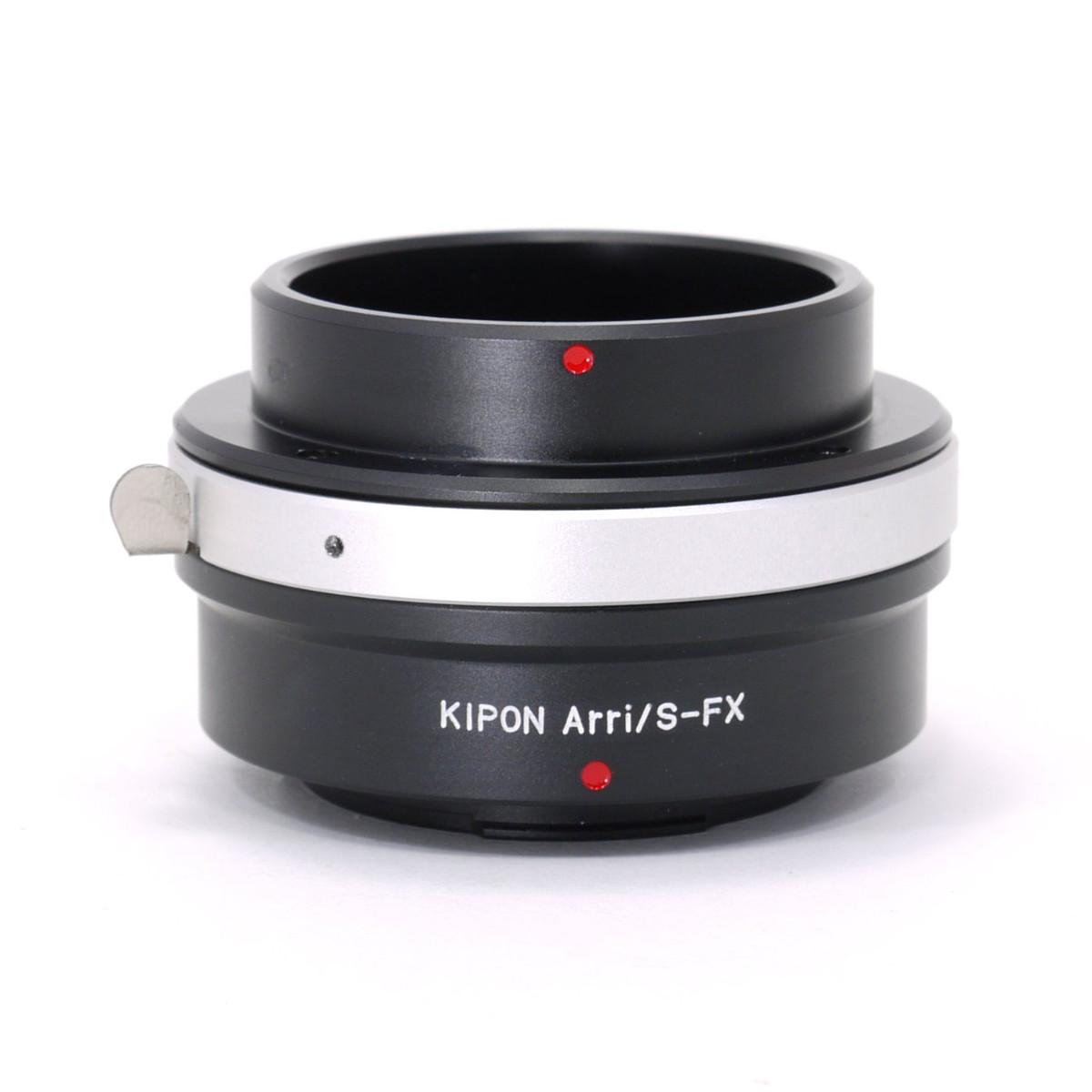 マウントアダプター KIPON ARRI/S-FX アリフレックスマウントレンズ - 富士フィルムXマウント