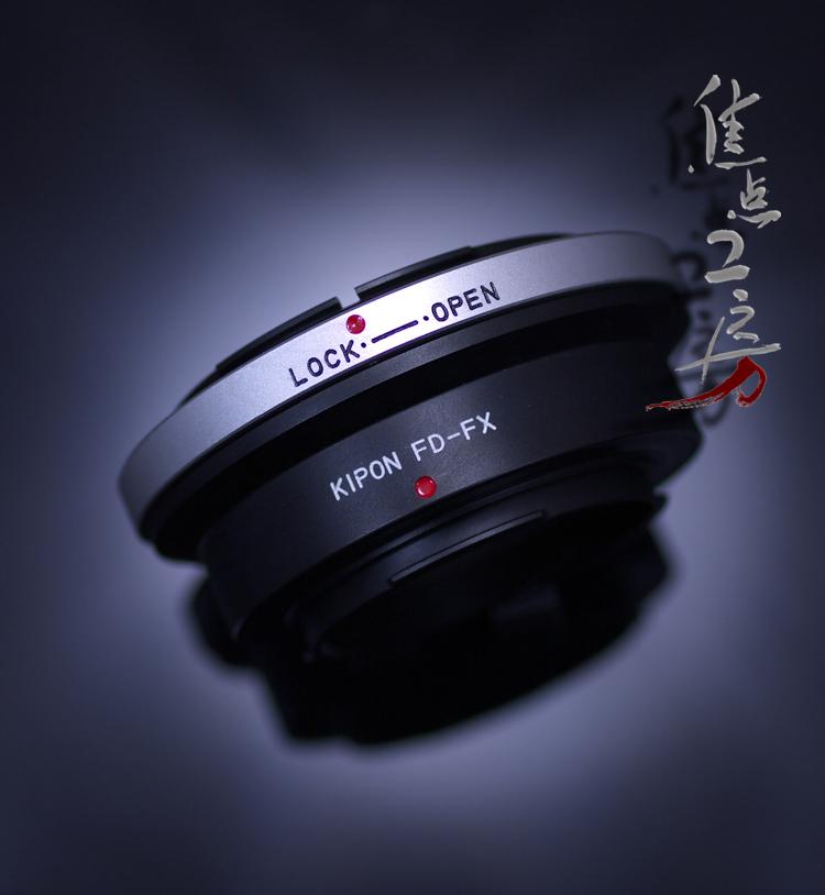 新品■送料無料■ KIPON キポン マウントアダプター 倉庫 FD-FX 富士フィルムXマウントカメラ - キヤノンFDマウントレンズ