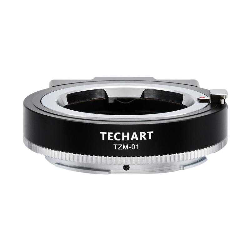 TECHART テックアート 秀逸 割り引き TZM-01 ライカMマウントレンズ 電子アダプター ニコンZマウント →