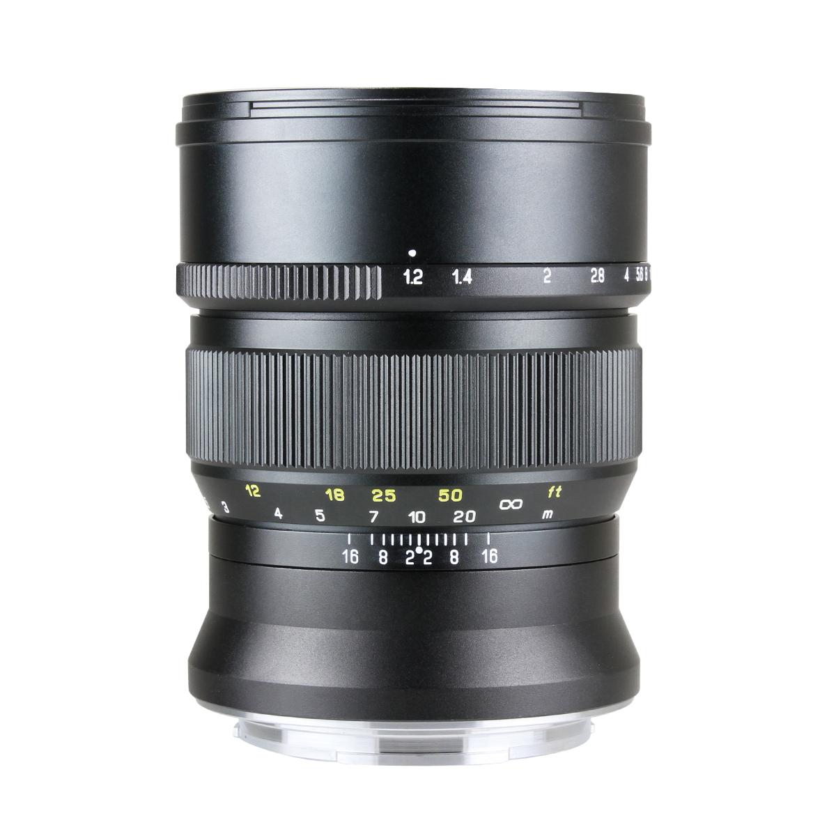 中一光学 SPEEDMASTER ZHONG YI OPTICS 富士フィルムGマウント 85mm F1.2 NEW ARRIVAL 単焦点レンズ お気に入り -