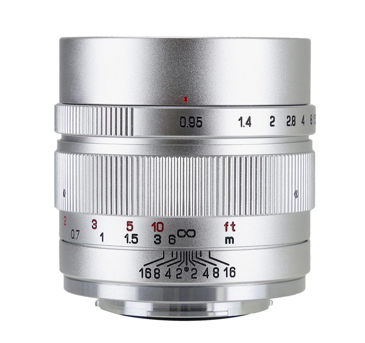 中一光学 | ZHONG YI OPTICS SPEEDMASTER 35mm F0.95 II - フジフィルムXマウント 単焦点レンズ シルバー