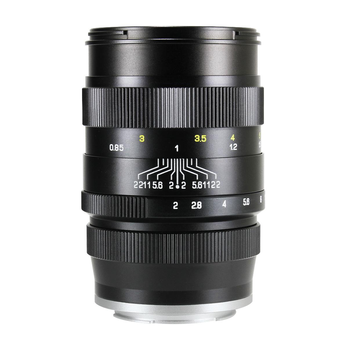 中一光学 CREATOR 85mm F2 ブラックー ソニーEマウント 単焦点レンズ