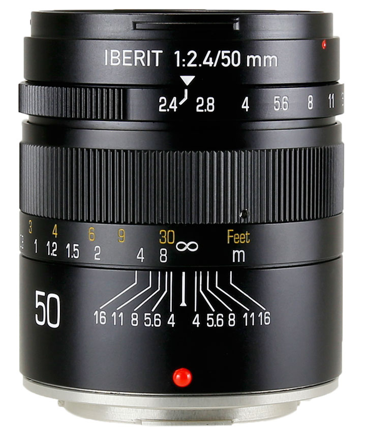 HandeVision IBERIT(イベリット) 50mm f/2.4 For FUJIFILM X (富士フィルムXマウント) ブラック
