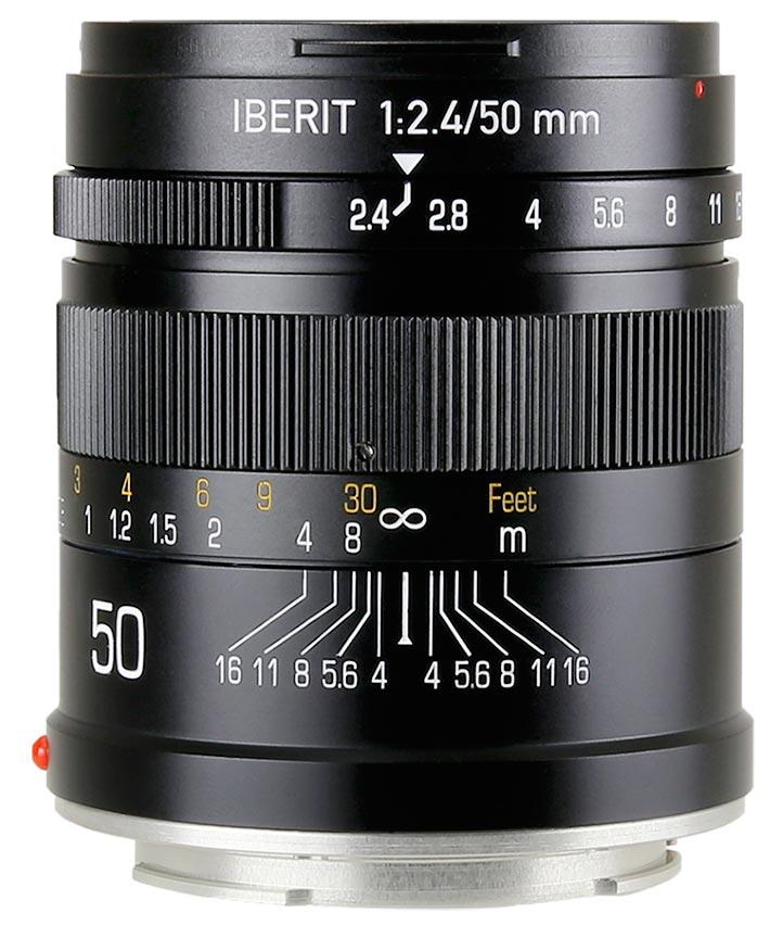 HandeVision IBERIT(イベリット) 50mm f/2.4 For SONY E (ソニーEマウント) ブラック