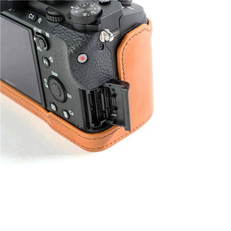 cam-in (カムイン) レザーカメラケース ソニーα7 II シリーズ用 LCP-003
