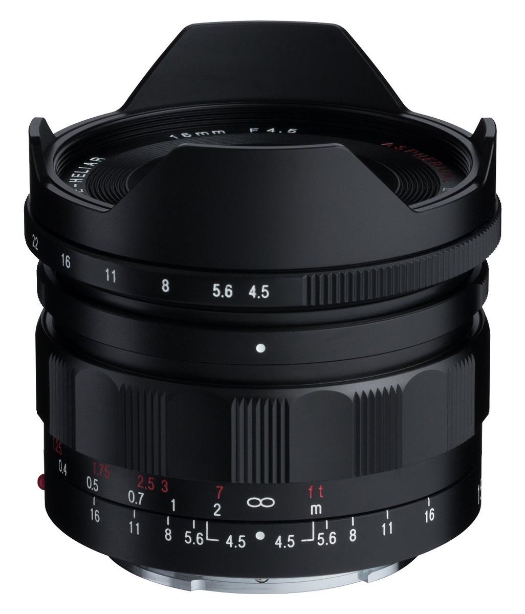 COSINA フォクトレンダー│Voigtlander SUPER WIDE-HELIAR 15mm F4.5 ASPHERICAL III - ソニーEマウント対応 単焦点広角レンズ ブラック