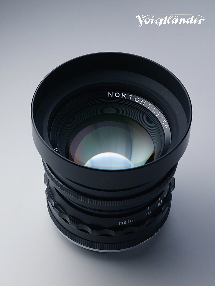 COSINA フォクトレンダー│Voigtlander NOKTON VM 50mm F1.5 Aspherical ブラック - ライカMマウント