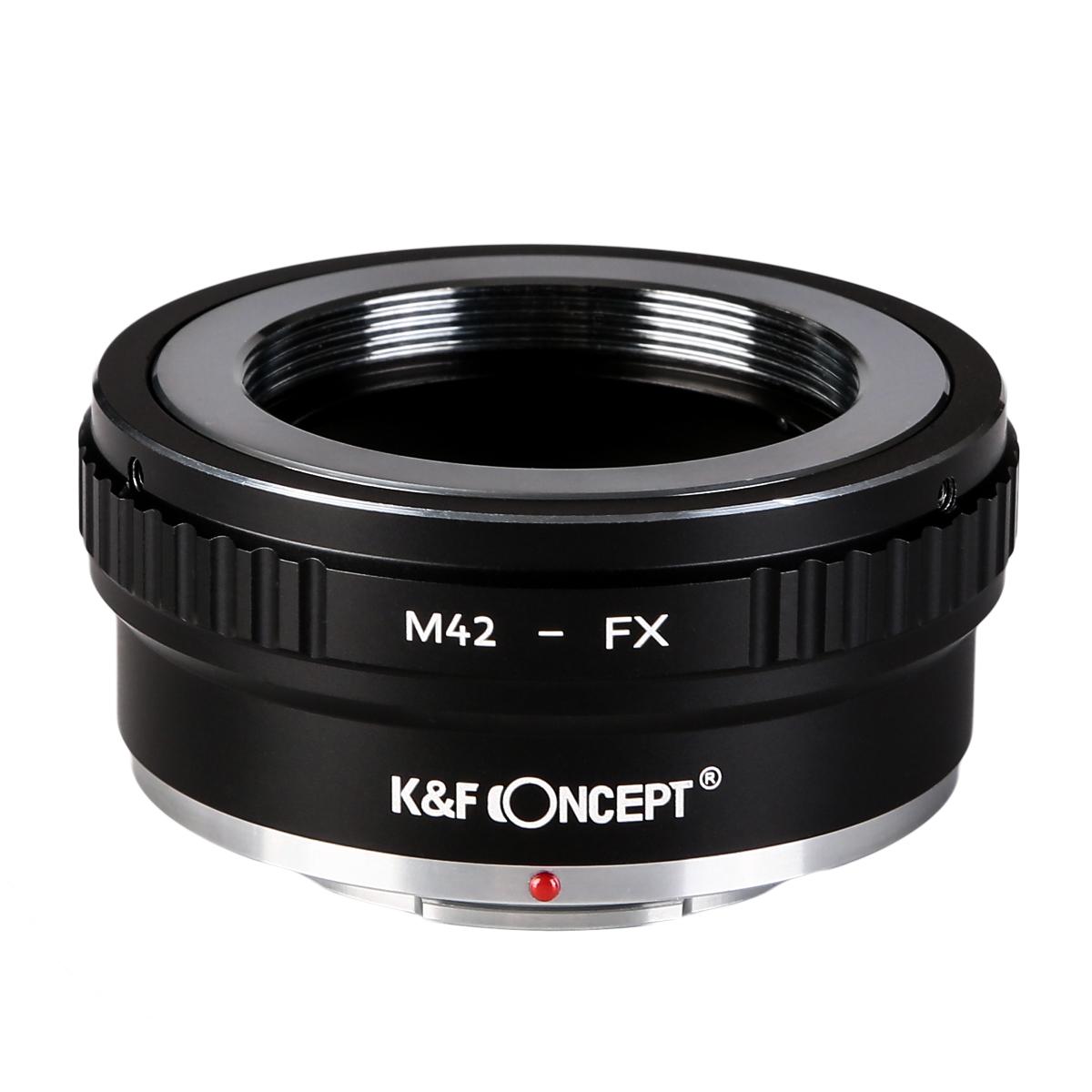 KF (訳ありセール 格安) CONCEPT Concept レンズマウントアダプター 爆安 M42マウントレンズ → KF-42X2 富士フィルムXマウント変換