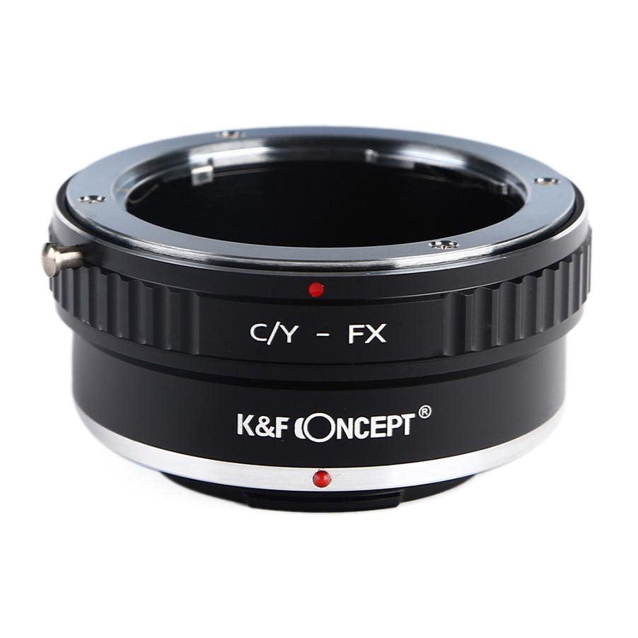 期間限定で特別価格 KF CONCEPT Concept レンズマウントアダプター KF-CYX → お得なキャンペーンを実施中 富士フィルムXマウント変換 ヤシカ コンタックスマウントレンズ