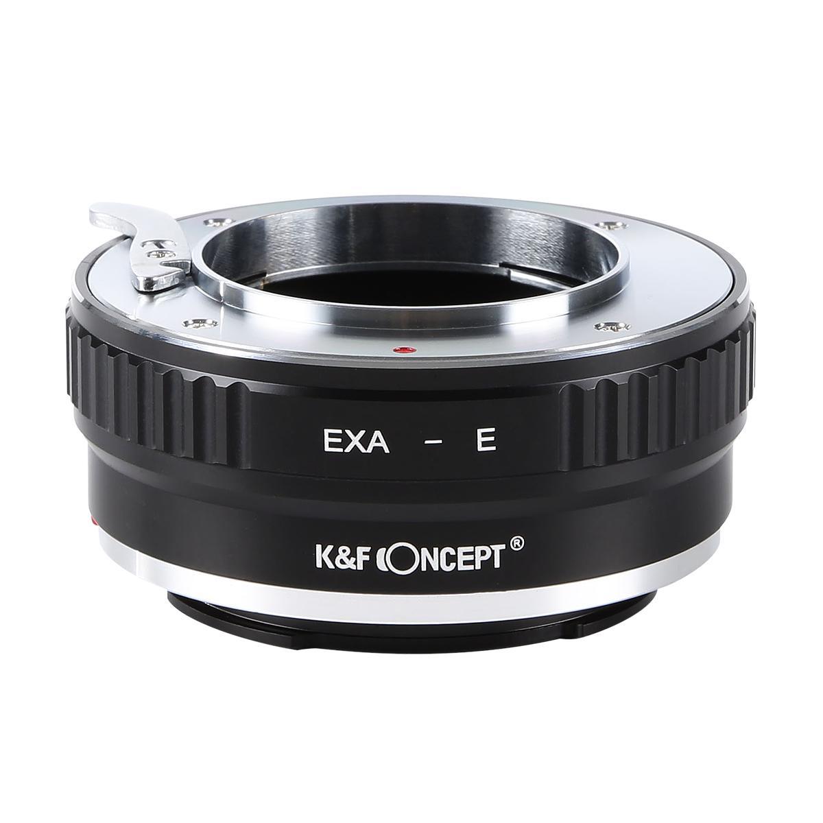 KF 即出荷 CONCEPT Concept レンズマウントアダプター マーケティング ソニーEマウント変換 KF-EXAE エキザクタマウントレンズ →