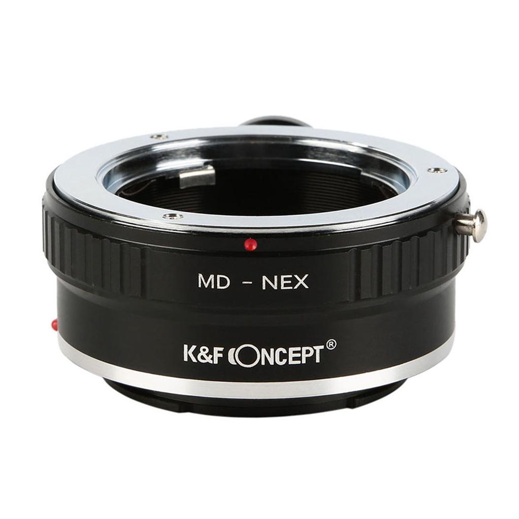 KF CONCEPT Concept 返品交換不可 レンズマウントアダプター KF-MDE-T ミノルタMD MC│SRマウントレンズ ソニーEマウント変換 授与 → 三脚座付き
