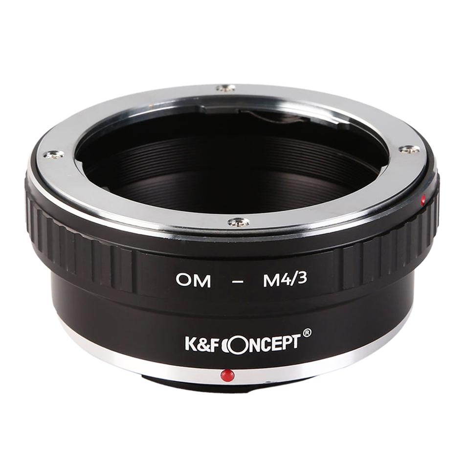 KF CONCEPT Concept レンズマウントアダプター バースデー 売り出し 記念日 ギフト 贈物 お勧め 通販 マイクロフォーサーズマウント変換 KF-OMM43 → オリンパスOMマウントレンズ